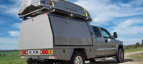 RV canopy for camping and touring